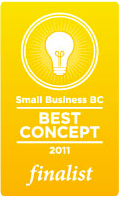 Small Business BC Best Concept 2011